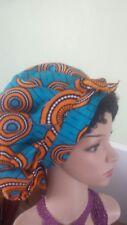 Satin ankara bonnets  with satin lining