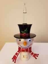 Snowman Bubble Electric Nightlight
