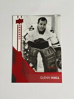 Glenn Hall Chicago Blackhawks 2016-17 Upper Deck Overtime Red 8/99