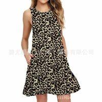 Loose Maxi Dress V Neck Floral Fashion Long summer Party Women beach sundress