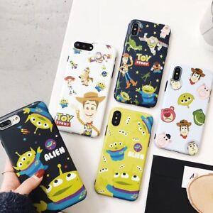 Cute Disney cartoon Toy Story Alien soft case Cover for iPhone 11 Pro XS Max 7 8