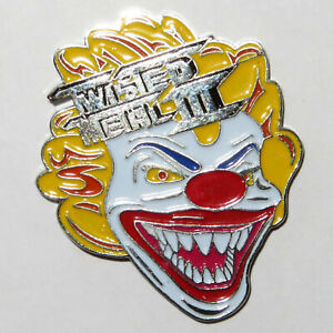 1998 TWISTED METAL 3 LAUNCH PROMO PIN BADGE E3 CON EVENT SONY LAPEL GAME PS1 III