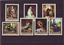 a128 - HUNGARY - SG2239-2245 MNH 1968 PAINTINGS IN NATIONAL GALLERY - 1st SERIES
