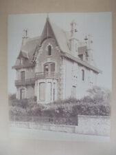 Photographie  1890 deauville  villa blondel architecte blondel