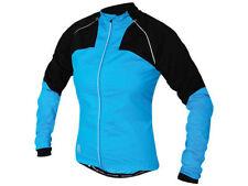 Giubbini da ciclismo antivento blu