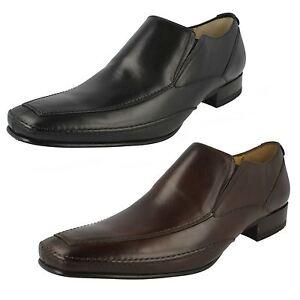 Hombre Loake Leather Zapatos sin Cordones Matthews
