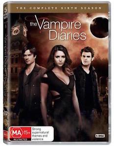 THE VAMPIRE DIARIES Season 6 : NEW DVD
