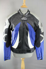 FIELDSHEER LEATHER BIKER JACKET WITH CE ARMOUR & QUILTED THERMAL LINING 40 INCH