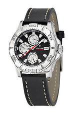 Gebürstete Armbanduhren mit Datumsanzeige und 100 m (10 ATM) für Erwachsene