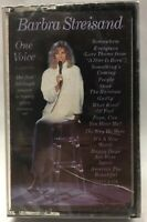 BARBRA STEISAND * One Voice - FREE SHIPPING Vintage Music Cassette Tape