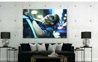 Heath Ledger Joker Poster Canvas Print Art Home Decor Wall Art High Quality