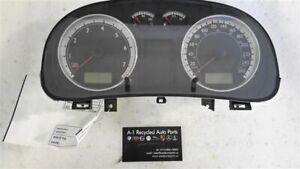 Speedometer Cluster 260 KPH 6 Speed 4 Cylinder 1J6 920 806 Fits 03 VW GOLF 42029