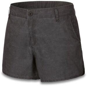 New 2019 Dakine Women's Kira Twill Travel Shorts Size 28 Black