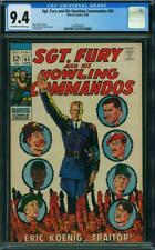 SGT FURY AND HIS HOWLING COMMANDOS 65 CGC 9.4 OWW PAGES TRAITOR 1969 A1