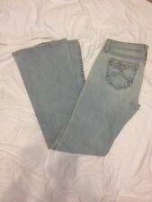 Denim of Virtue 5 Pocket Light Denim Boot Cut Jeans size 29 $195