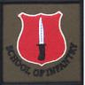 SCHOOL OF INFANTRY TRF BRITISH ARMY FLASH PATCH
