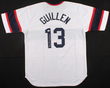 ecf887ade0d Ozzie Guillen Signed Chicago White Sox Jersey Inscribed
