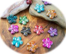 Blumen, plastiken Acryl-Perlen