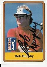 BOB MURPHY RARE SIGNED 1981 TOPPS GOLF CARD