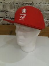 Vintage Adidas 2012 Olympics Team GB Baseball Cap Hat Red Large Mens NoS BNWT OG