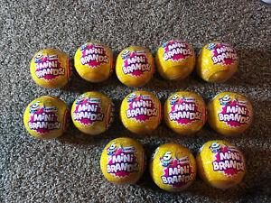 Lot Of 13- ZURU 5 Surprise Mini Brands! Series 2 Blind Ball Christmas 🎄NEW 2020