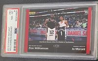 2019 Panini Instant Zion Williamson & Ja Morant ROOKIE RC 1/616 #83 PSA 8 NM-MT