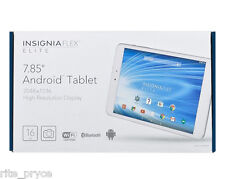 "New Other Insignia Flex Elite Android 5 Tablet 7.85"" 16 GB WiFi Bluetooth Hi Res"
