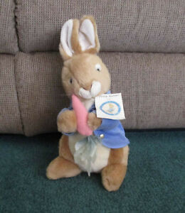 Vintage BEATRICE POTTER  Peter Rabbit  NEW!   MWT plush Beatiful condition