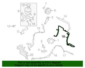 Genuine Lexus RX330 2004-2006 Power Steering Pressure Hose 44410-48121 OEM