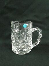 Tiffany & Co. Crystal Rock Cut Beer Mug