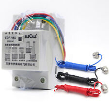 EDF96D Din Rail Mount Float Switch Auto Water Level Controller AC220V 5A 3 Probe