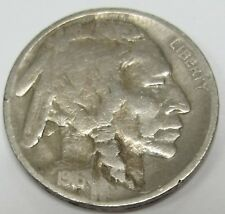 1916-D Buffalo Nickel - Indian Head *Old US 5 Cents