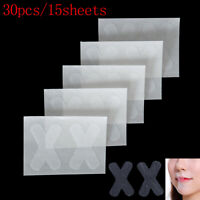 30Pcs Sleep Strips Advanced Gentle Mouth Tape Nose Sleeping Less Mouth Breath.kn