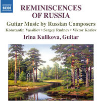 Vassiliev / Irina Ku - Reminiscences of Russia-Guitar Music By Russian [New CD]