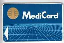 Test expo card card... France switzerland bull cp8 philips medicard chip/Chipset