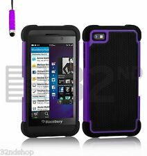 32nd Dual Layer Shockproof Case for Blackberry Leap Stylus Purple