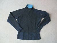 Mountain Hardware Sweater Womens Extra Small Blue Gray Full Zip Lightweight