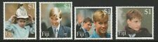 Fiji 2000 18th Birthday of Prince William set SG 1097-1100 Mnh.