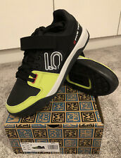Mens Adidas Five Ten Hellcat Pro Sz UK 11 Blk/Yell Clipless Shoes BNIB RRP £120