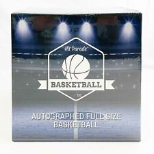 2019/20 Hit Parade Autographed Full Size Basketball Box - Series 9