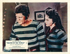 Master of the World Original Lobby Card  Charles Bronson Mary Webster 1961