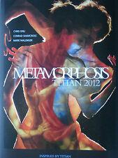 METAMORFOSI NATIONAL GALLERY poster Chris Ofili, Mark wallinger, Tiziano, Danza