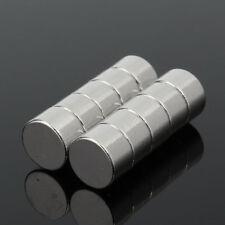 10pcs 8x5mm N52 Super Strong Round Disc Blocks Rare Earth Neodymium Magnets Oma