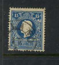 Austria-Lombardy   12  used   ,15 soldi    catalog   $125.00     MS0302
