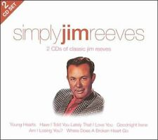 Simply Jim Reeves by Jim Reeves (CD, Apr-2011, 2 Discs, Union Square Music)