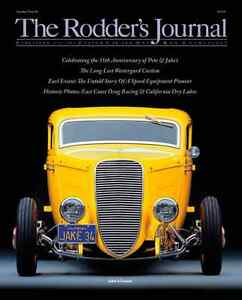 """Rodders Journal #46 cover A """"Jakes coupe"""""""