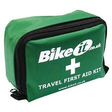 Bikeit Mini Motorcycle Travel First Aid Kit - Motorbike Touring Aprilia BMW etc