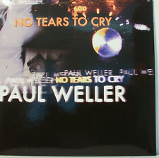 """PAUL WELLER - NO TEARS TO CRY - RIVER MAN - 7""""SINGLES (F759]"""