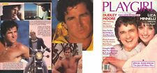 PLAYGIRL 8-81 DUDLEY MOORE LIZA ROCKERS OLDER MEN! HAIRY HAINES AUGUST 1981