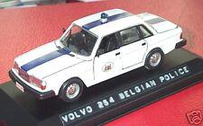 wonderful Belgian policecar VOLVO 264 GLE SALOON 1980